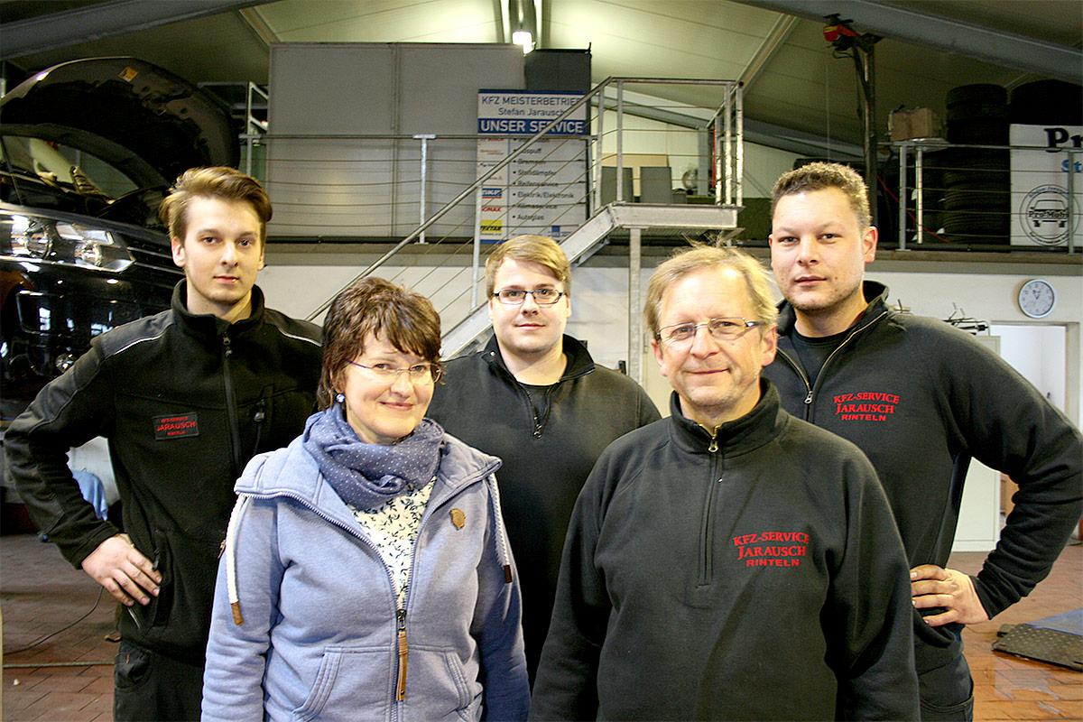 Das Team von Pro Mobil Stefan Jarausch